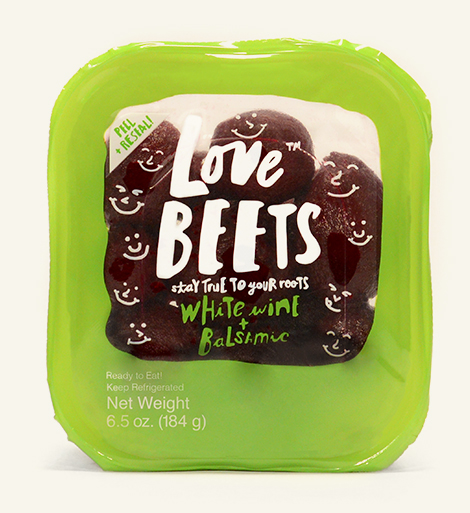 love beets package white wine and balsamic beets
