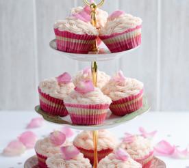 Beet & Vanilla Cupcakes