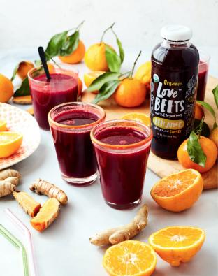 love beets, juice, elixir, beet, ginger, immune boosting, detox