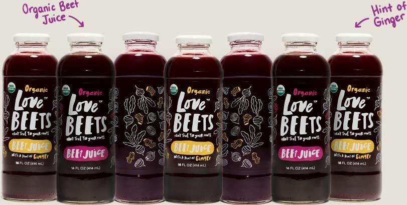 Love Beets Organic Beet Juice