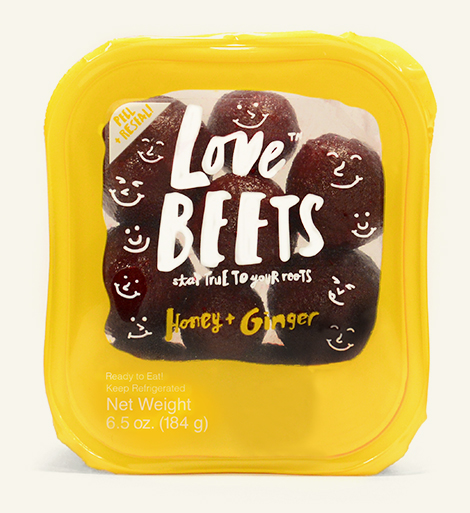 love beets package honey and ginger beets
