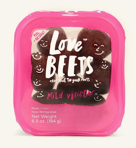 love beets package mild vinegar beets