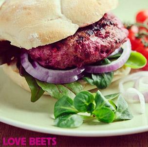 Lamb & Sweetfire Beet Burgers
