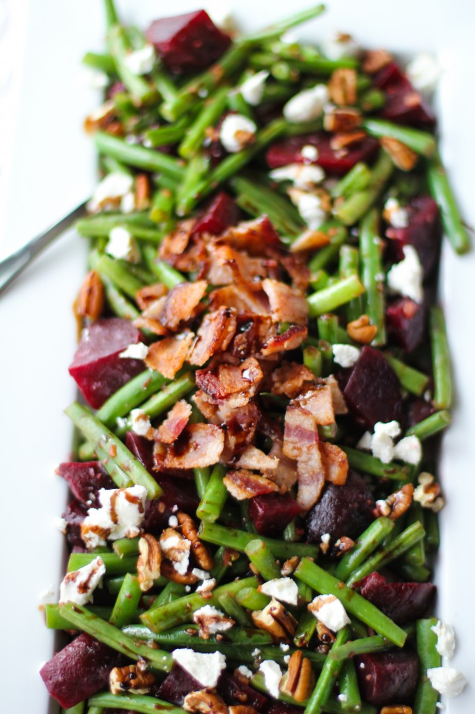 Balsamic Green Beans & Beets