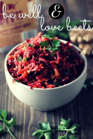 be well & love beets