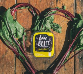 honey and ginger love beets with beets in the shape of a heart