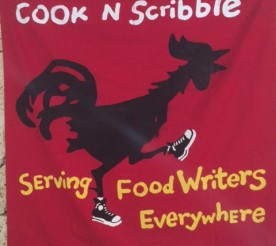 cook & scribble sign