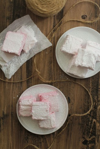 vegan friendly beet marshmallows