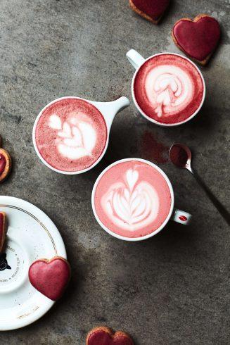 beet latte recipe