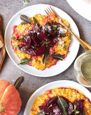 butternut squash and beet risotto recipe