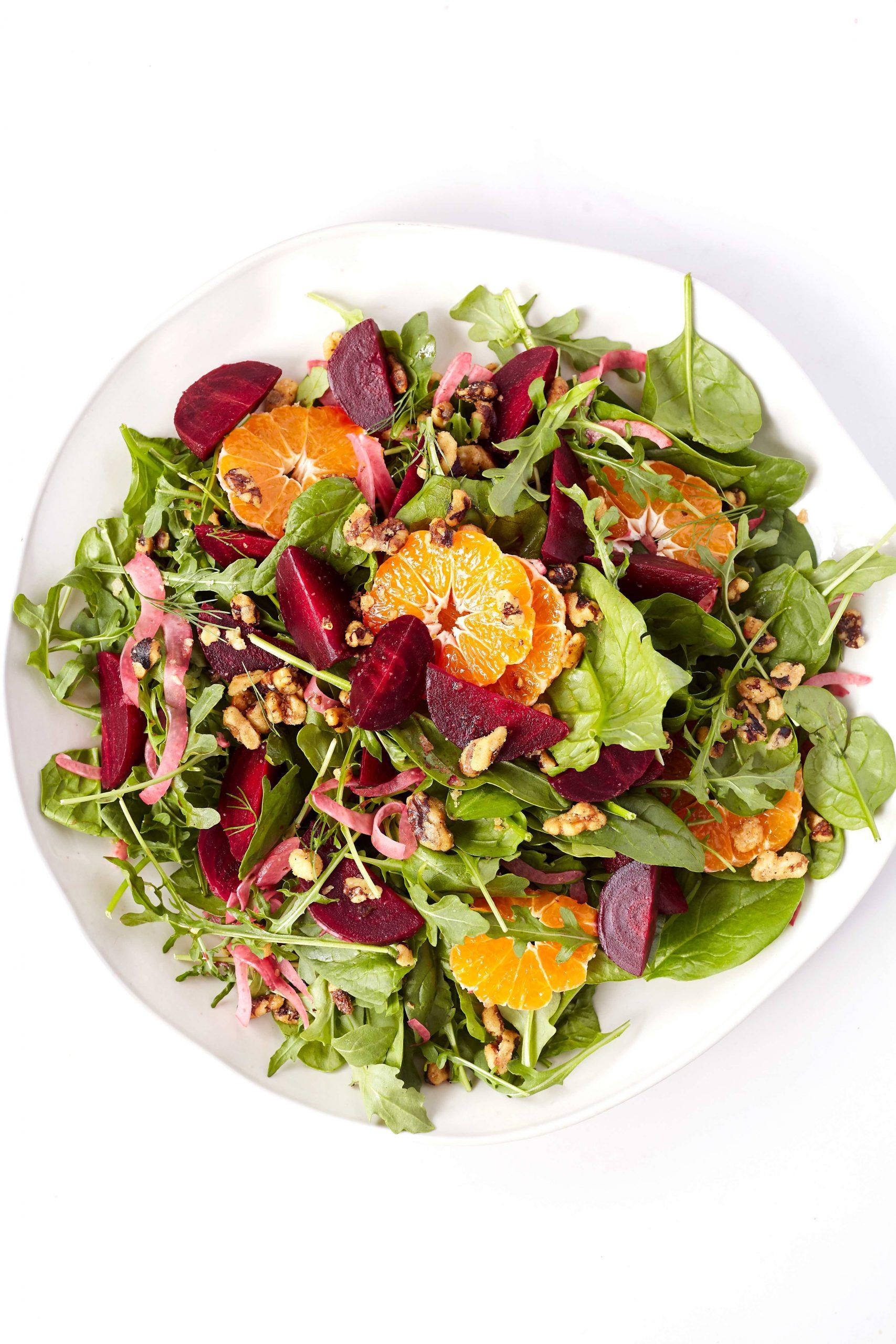 tangerine beet salad