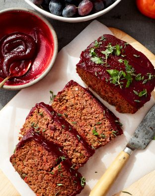 Vegetarian Beet Loaf
